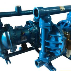 隔膜泵源头生产厂家 QBY-15铸铁气动隔膜泵 丁晴膜片