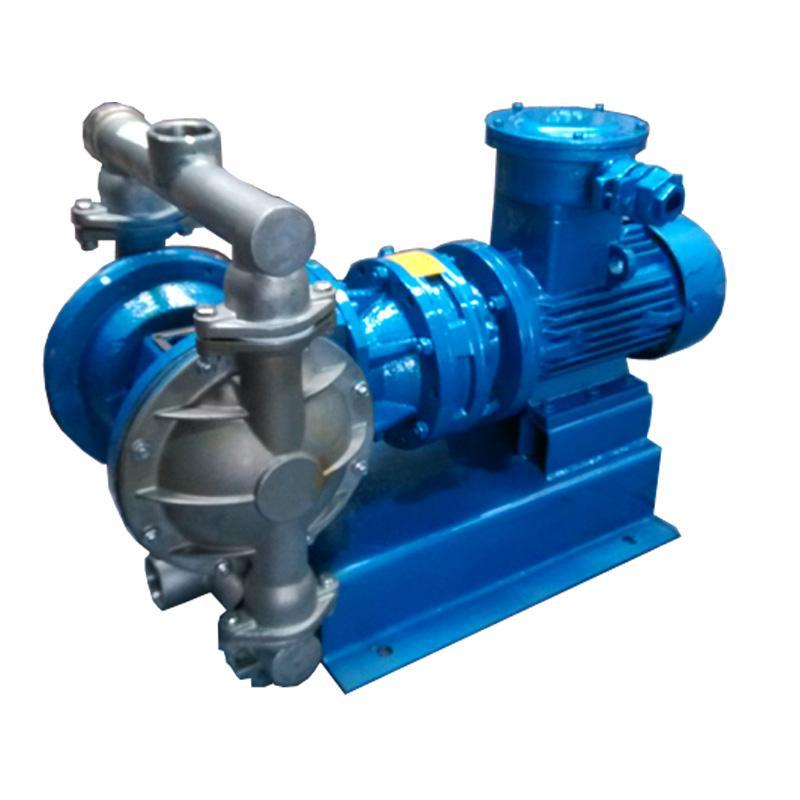 *生产销售QBY-25铝合金气动隔膜泵 含固体颗粒液体输送泵