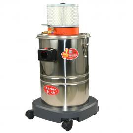 工厂大量粉尘气动工业吸尘器桶式气动吸尘器适合喷涂车间化工厂