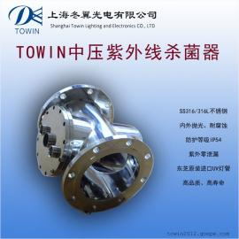 TDDWM230-12 中压紫外线杀菌器 泳池循环水紫外消毒设备 360T/H