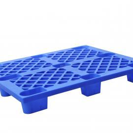 生产厂家直销1212平板九脚塑料托盘 电镀厂家专用塑料卡板