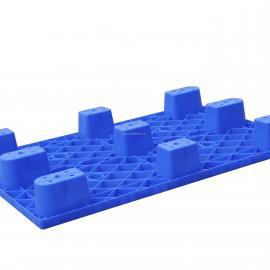 生产厂家直销1111平板九脚塑料托盘 食品用塑料卡板