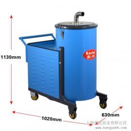 凯叻KL120-40工业纺织专用机器380V大功率吸尘器厂设备除尘铁屑