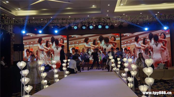 宴会厅LED大屏规格型号/P3高清LED舞台背景显示屏价格