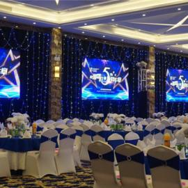 酒店宴会厅LED显示屏怎么选型号?不同型号一平米价格差多少