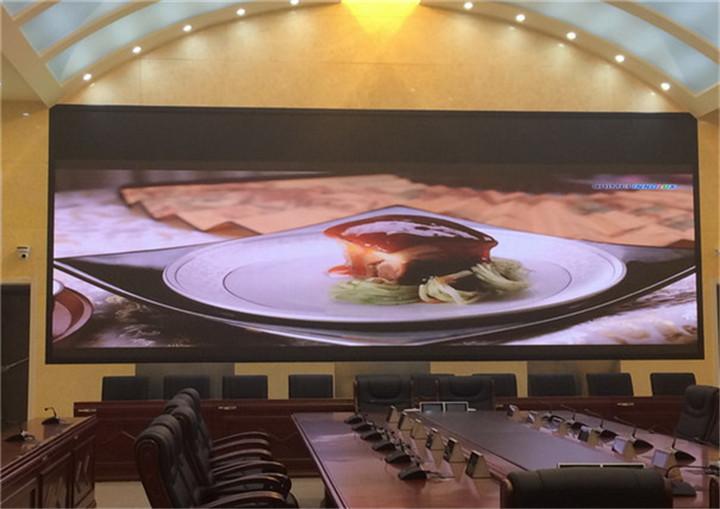 酒店会议室P2高清LED4K电视显示屏价格