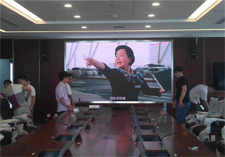 会议室小间距全彩显示屏价格,P2室内高清LED显示屏