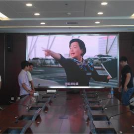 LED拼接屏P2.0全彩显示屏报价,会议室P2小间距4K高清显示屏