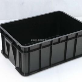 全新料周转箱塑料卡板各类防静电塑胶箱物流箱塑料方盘