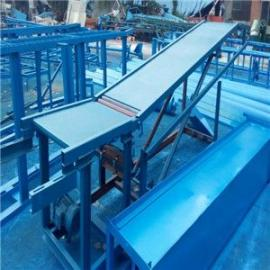 工厂用可正反转移动式装车爬坡输送机