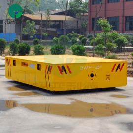 可自由转弯运行的BWP无轨胶轮电动平板车 操作灵活安装便捷