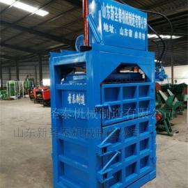 多功能立式液压打包机生产厂家 圣泰玉米秸秆打包机报价
