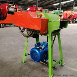高效节能型铡草机生产厂家/圣泰高粱秸秆铡草机
