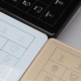 妙源Miovun智能控制面板HOS9系列曲面玻璃轻触灯控开关