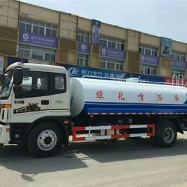 东风6-8吨喷雾洒水车价格