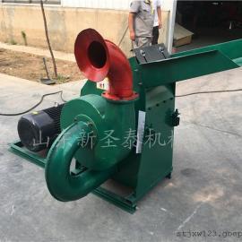 双动力饲料粉碎机生产厂家/圣泰谷物粉碎机