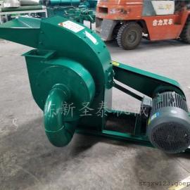 双动力秸秆粉碎机生产厂家/圣泰饲料粉碎机