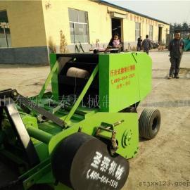 站立秸秆回收打捆机生产厂家 圣泰玉米秸秆粉碎打捆机价格