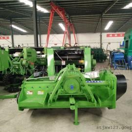 玉米秸秆粉碎打捆机生产厂家 圣泰秸秆回收打捆机报价