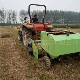 玉米秸秆粉碎打捆机价格 圣泰牌回收打捆机报价