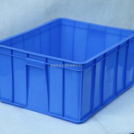 批发全新料加厚6#塑胶箱545*420*240周转包装箱AAA级塑料制品