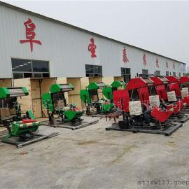 青贮饲料打捆包膜机生产厂家 圣泰青饲料打捆包膜一体机