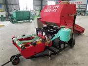 青贮密封性好的打包机生产厂家 圣泰打捆包膜一体机型号