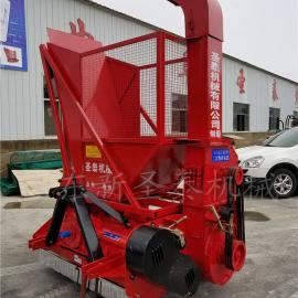 大型玉米秸秆粉碎回收机生产厂家 圣泰秸秆回收机型号