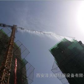 建筑工地塔吊喷淋系统安装方法