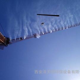建筑工地塔吊机喷淋系统的做法