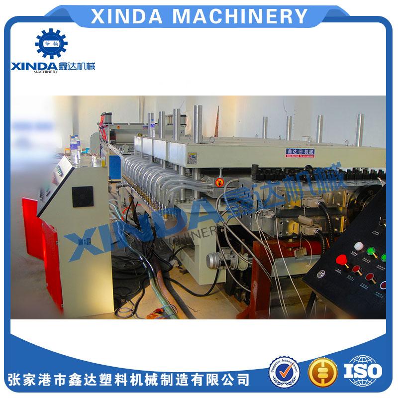PVC1220建筑模板生产线,塑料建筑模板生产线生产厂家