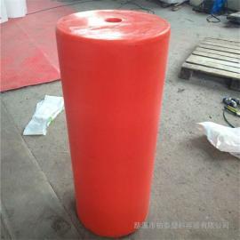 直径40公分挡渣拦截浮体 浮筒式塑料拦污导漂厂家价格