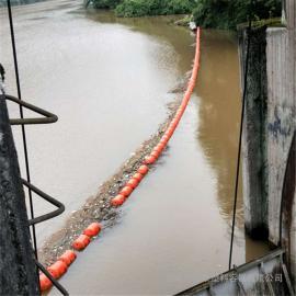 树枝杂物拦截清理塑料浮筒 湖面挡漂围栏夹网浮体批发价格