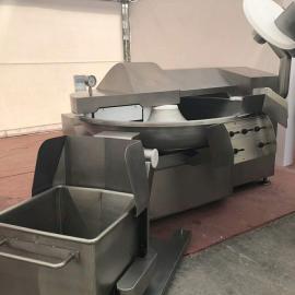 6吨千叶豆腐干卤味无泡技术-千页豆腐干高速斩拌机/斩浆机