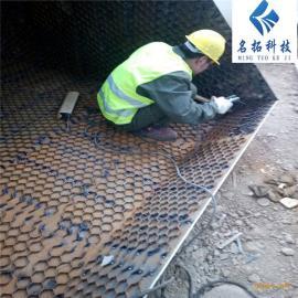 立磨专用龟甲网高强耐磨涂料 耐磨涂料施工