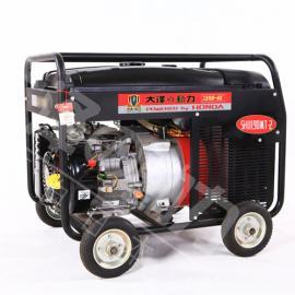 方便移动190A汽油发电焊机