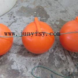 直径30公分塑料浮球 直径40聚乙烯塑料浮球