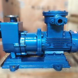 ZCQ32-25-145防爆电机型自吸磁力泵厂家价格 不锈钢磁力驱动泵