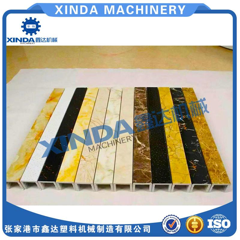 PVC石塑装饰线条生产线设备