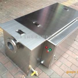厨房不锈钢隔油池 餐厅油水分离器百科