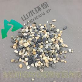 承托层卵石 承托层砾石 鹅卵石滤料 滤料垫层