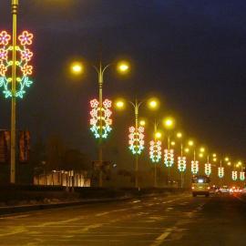 灯杆造型灯
