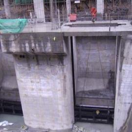 水库闸门钢丝绳水下调换