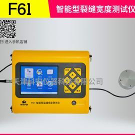 数字显示裂缝测宽仪 F61智能型裂缝宽度测试仪