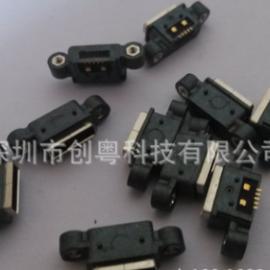 防水USB母座 MICRO 5P防水接口 贴片防水 双孔锁螺丝