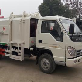 东风5方挂桶式垃圾车厂家生产