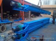16锰钢材质绞龙提升机 水平输送设备 螺旋输送机异型可订做