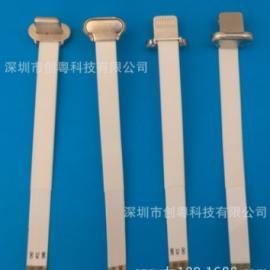 苹果无线充电器插头-6P软排线背夹充电公头