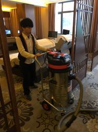 仓库专用吸灰尘工业吸尘器 工厂车间强力吸尘机WX-3078P