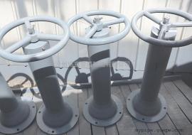 铸式链轮阀门传动装置 DD7103阀门上方传动装置